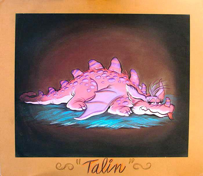 Talon concept art - Photo courtesy of CastleOSullivan / Tyler Whitby