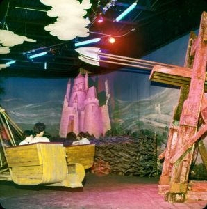 Catapult scrambler ride, 1976 (Courtesy of Gary Terrell)