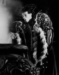 Magic cloak detail, John Sayers as Northrup