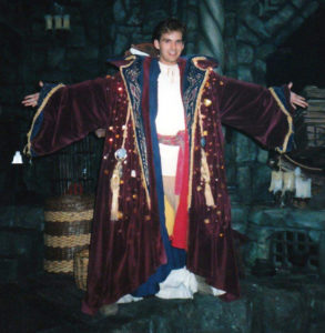 Nostramos' robe, 1989 (Steven Woolworth as Northrup)