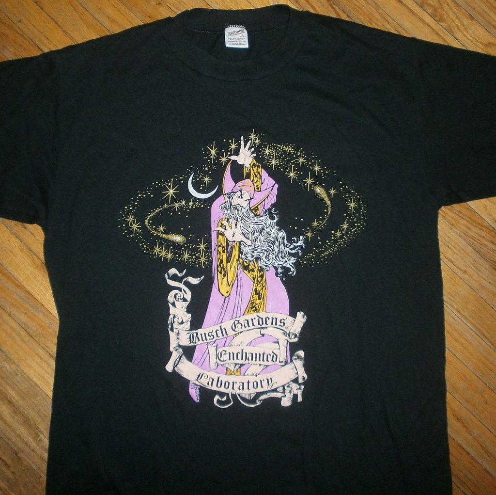 Enchanted Laboratory T-Shirt, late 1980's