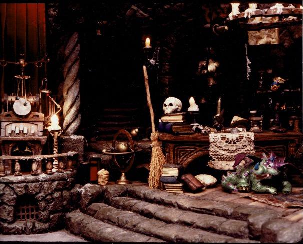 Set model detail, sculpted by Bob Baranick and Terri Cardinali, April, 1986 (Photo courtesy of Terri Cardinali)